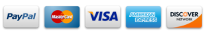 credit-cards-logos and paypal